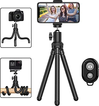 Erligpowht Flexible Cell Phone Tripod & Adjustable Camera Holder