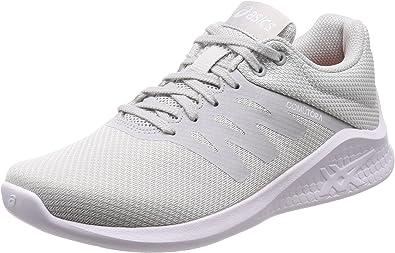 ASICS - Zapatillas de Running para Mujer Gris Gris, Color Gris, Talla 9: Amazon.es: Zapatos y complementos