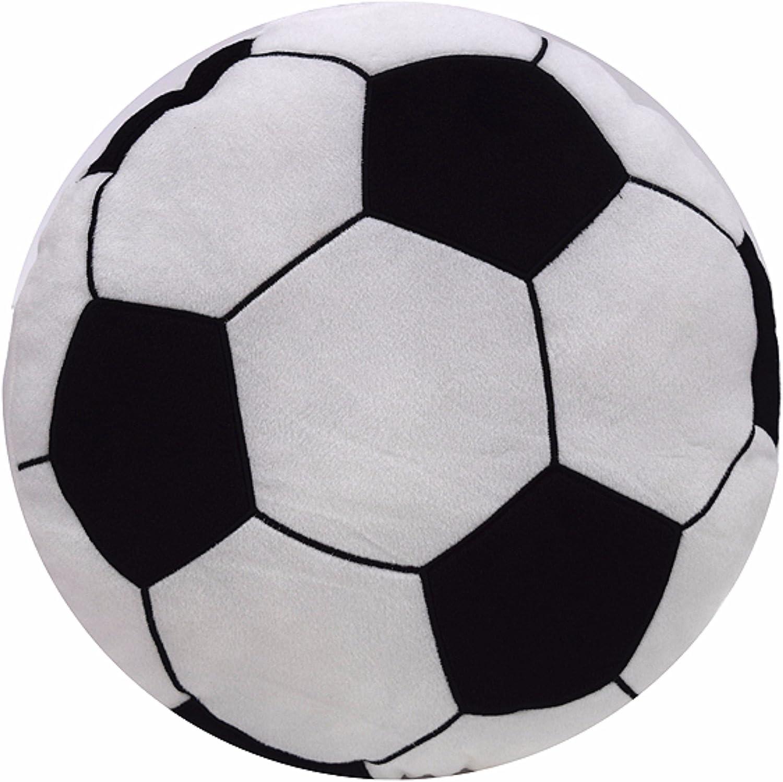 Pertemba Global Cojín relleno con forma de balón de fútbol (Talla ...