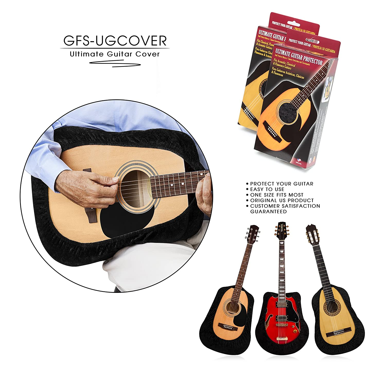 Tenor gfs-ugcover Ultimate guitarra de pantalla, guitarra, Guitarra Gig Bag, Funda protectora para acústica, Clásica, Flamenco, arco superior y Cutaway ...