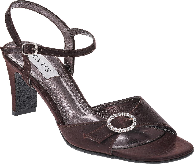 Sandales pour coupe confortable et Sandales pour réglable à et boucle diamanté. Marron ab69a08 - automaticcouplings.space