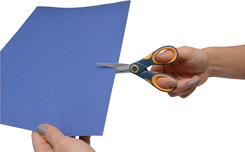 "Westcott Titanium Bonded Non-Stick Scissors, 5"" Straight : Tape Scissors : Office Products"