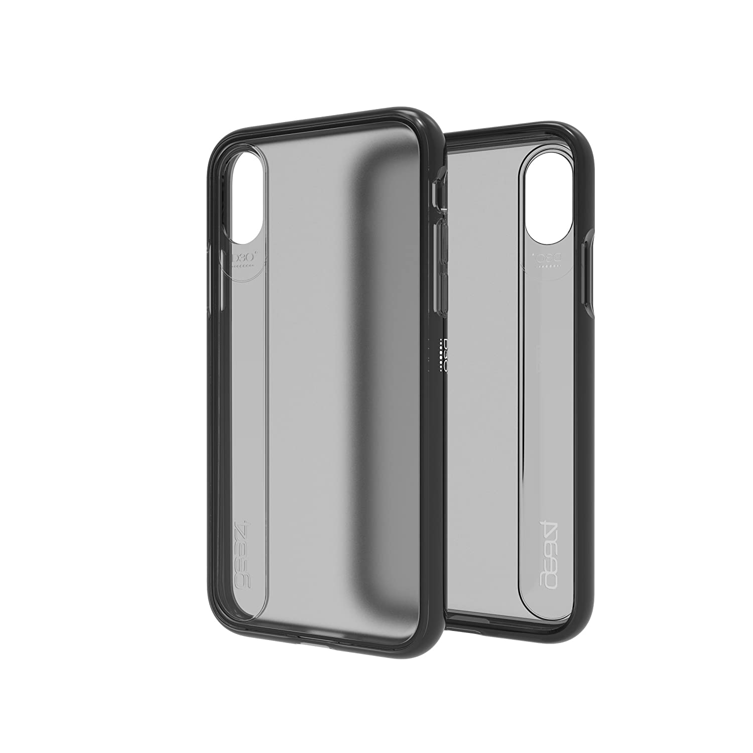big sale 7f9d7 4dfe4 Gear4 Windsor Ultra Thin Protective Case For Apple Iphone X Smokey Black