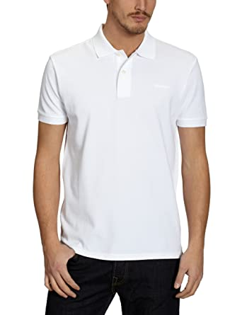 d53d2b0e74 Marc O'Polo Herren Poloshirt, Weiß (Withe 100), 52 (XL): Amazon.de ...