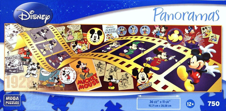 80% de descuento DISNEY Panoramas Mickey Through The Years 750 Piece Puzzle Puzzle Puzzle by Mega Brands  están haciendo actividades de descuento