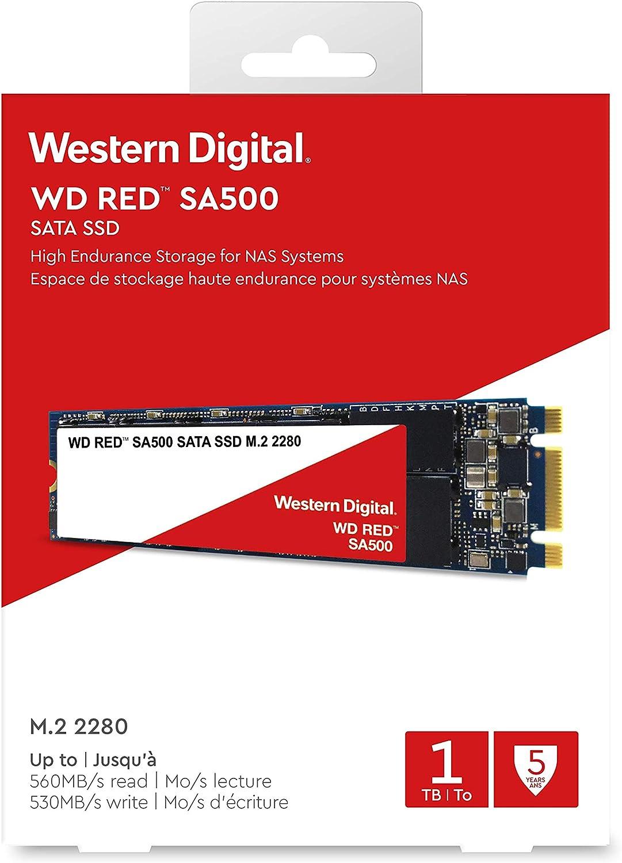 Western Digital WD Rojo M.2 SATA, 1 TB, Rojo: Western-Digital ...