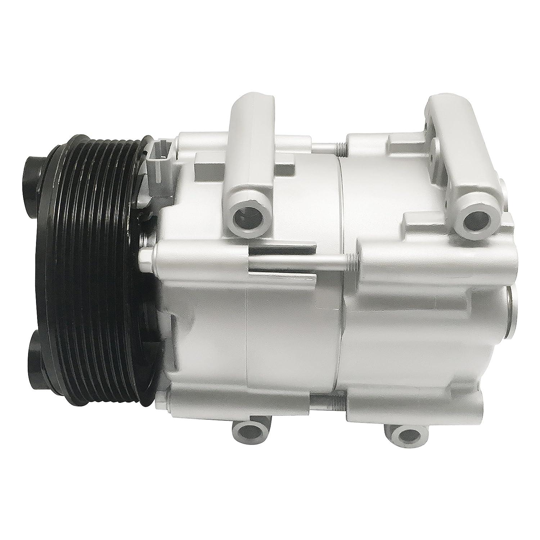 RYC Remanufactured AC Compressor and A//C Clutch EG161