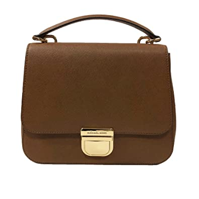 fa3533bbbadbf9 Michael Kors Bridgette MD Messenger Leather Luggage (35T8GBDM2L):  Amazon.co.uk: Shoes & Bags