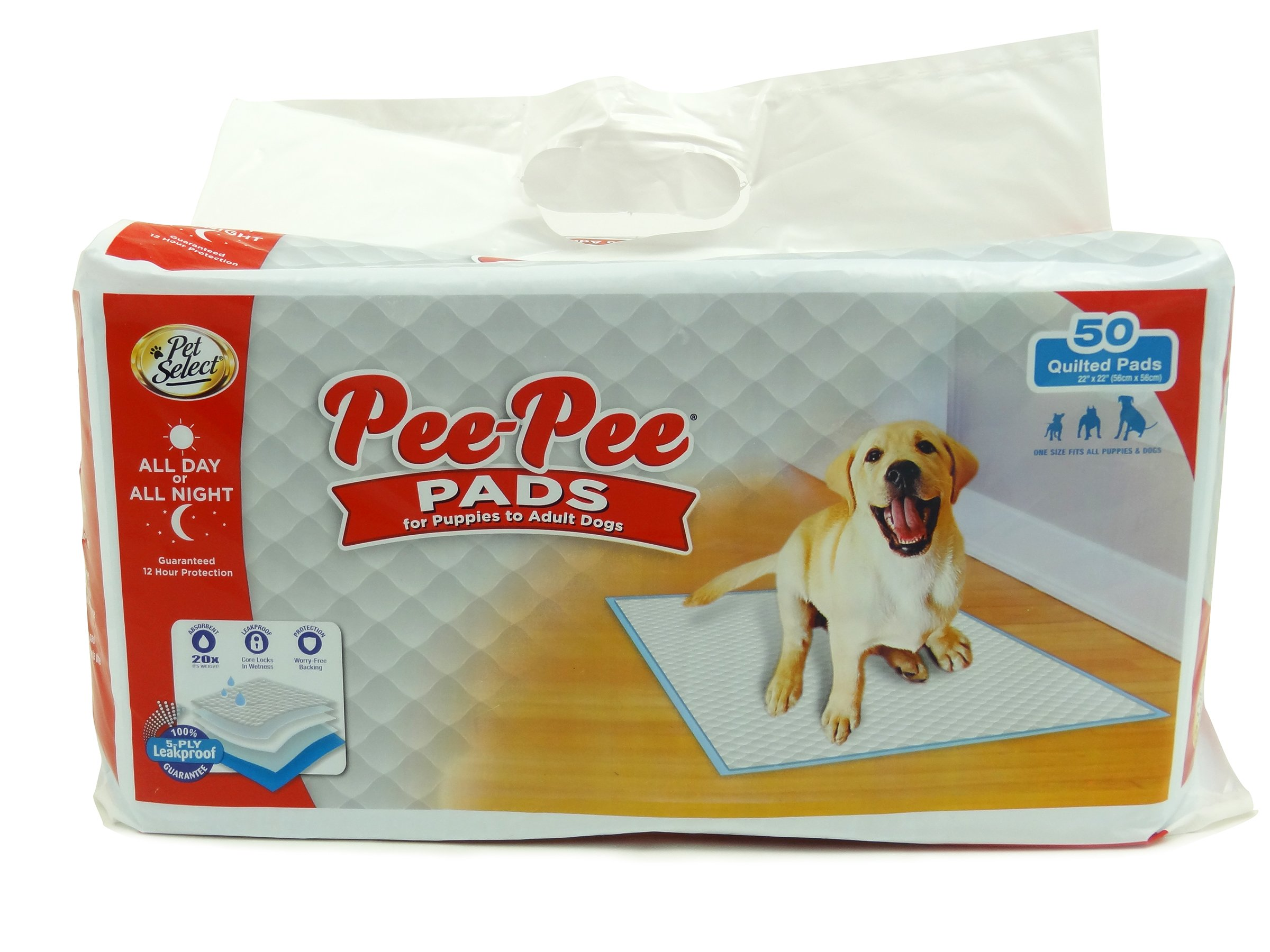 Pet Select Puppy Pads, 50 Ct