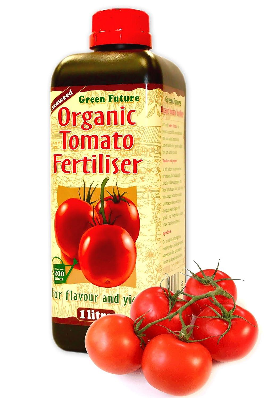 Tomato Focus / Green Future Organic Tomato / Pepper / cucumber Fertiliser 1 Litre makes 200 Litres Growth Technology