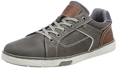 TOM TAILOR Herren 4880301 Sneaker, Schwarz (Black), 45 EU