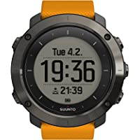 Suunto, TRAVERSE, GPS Outdoor for Hiking and Trekking, Up to 100 Hrs. Battery Life, Waterproof, Amber, SS021844000