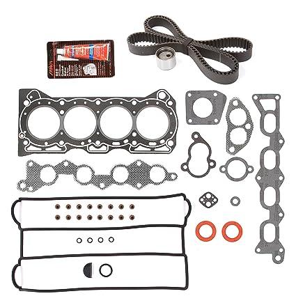 Amazon com: Evergreen HSTBK8003 Head Gasket Set Timing Belt Kit Fits