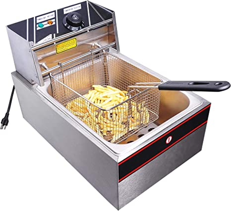 Details about  /Kitchen Home Cooking Tools Deep Fryer Fried Chicken Temperature Control With Lid