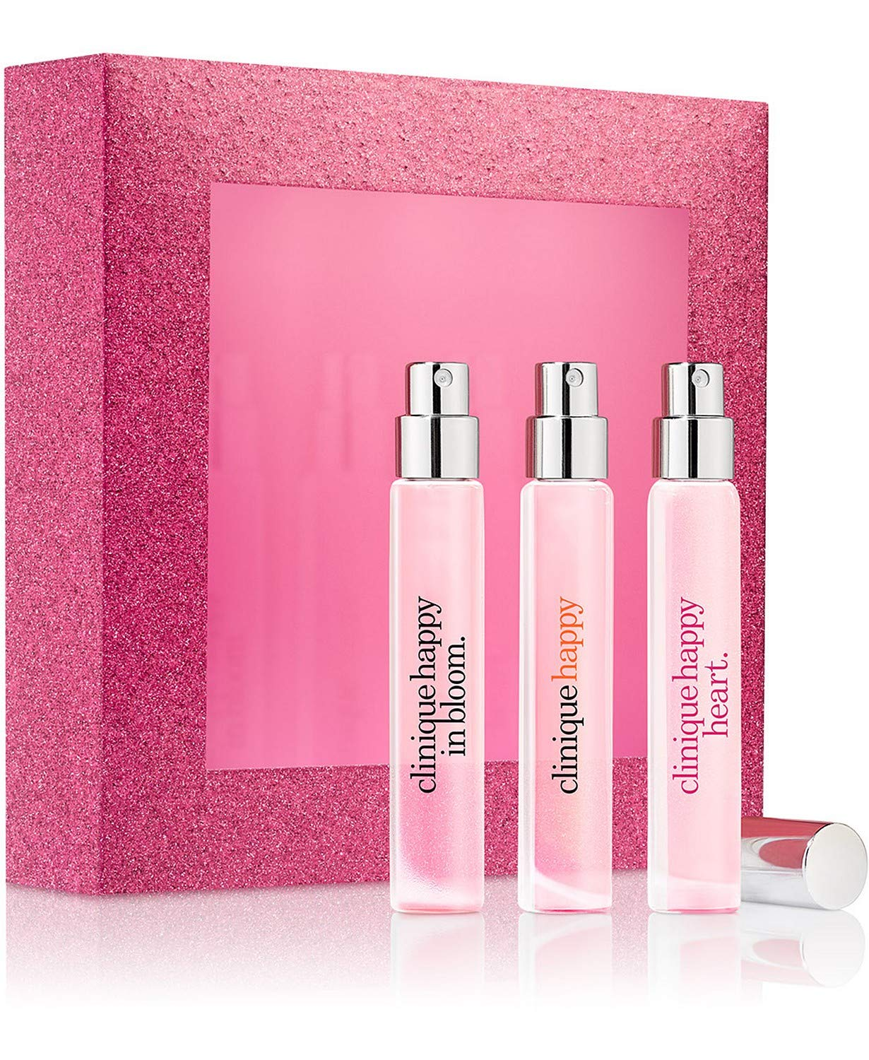 Clinique A Little Happiness Set 3-Pc. Set: Clinique Happy, Happy Heart and Happy in Bloom, 0.17fl.oz./ 5ml by Clinique