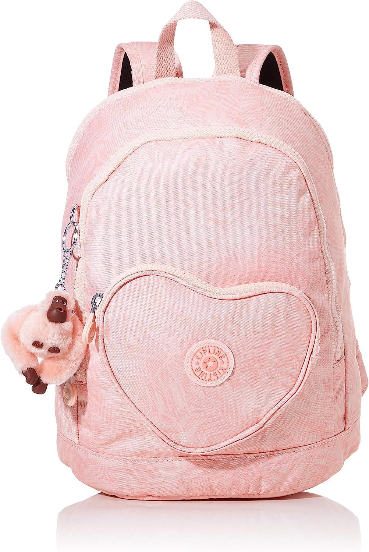 Kipling Heart Backpack Mochila Escolar, 32 cm, 9 Liters, Multicolor (Wild Palm): Amazon.es: Equipaje