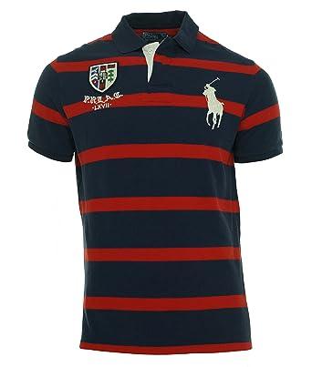 76e5c2e97a6 Polo Ralph Lauren Men u0027s Custom Fit Big Pony Striped Rugby