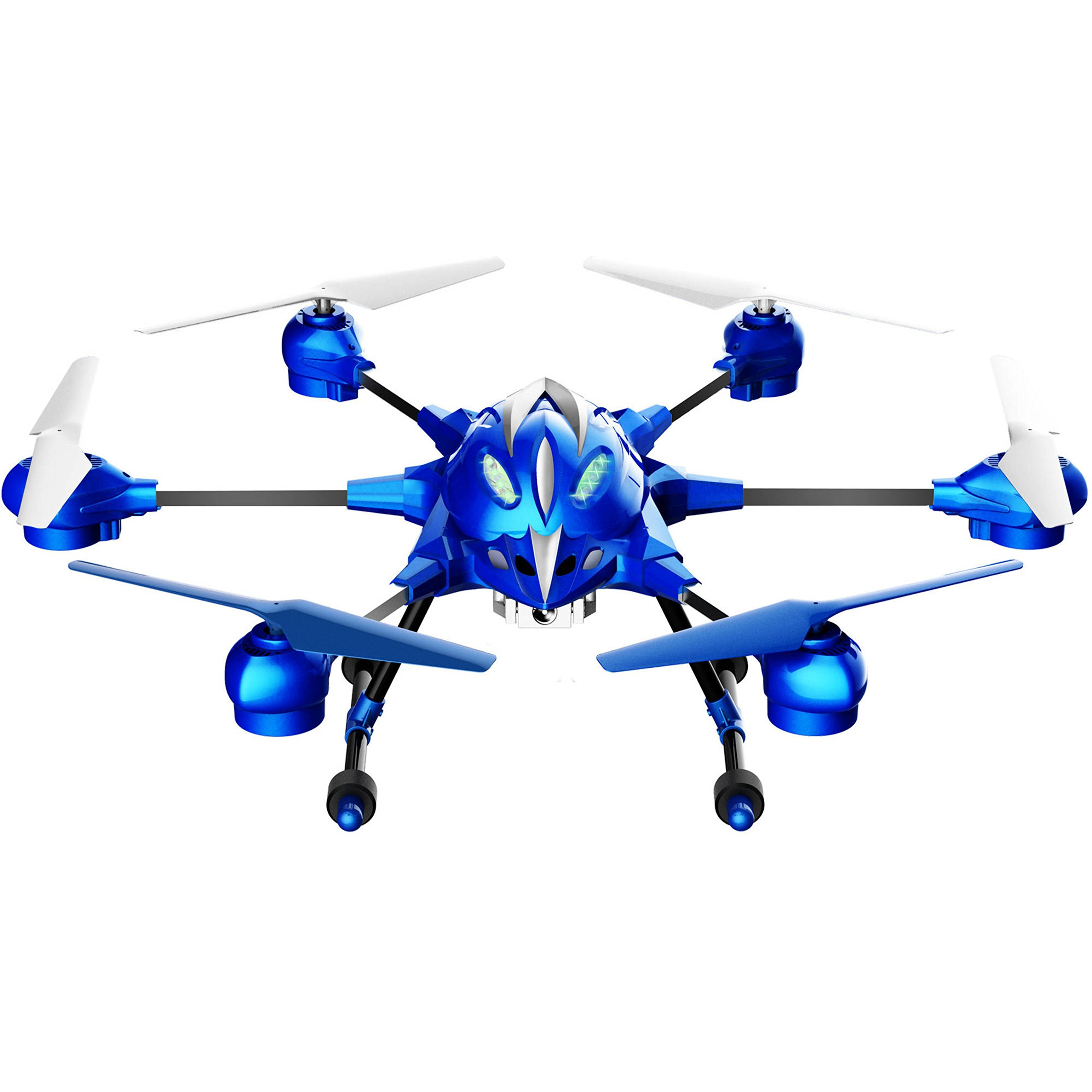 Pathfinder 2 Megapixel Resolution Camera Hexacopter WiFi Blue Drone by Riviera Hexacopter Drone