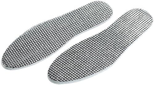 Newgen Medicals Schuhe Einlegesohlen: Alu Thermo Einlegesohlen, zuschneidbar, Gr. 36 46 (Warme Winter Schuh Einlagen)