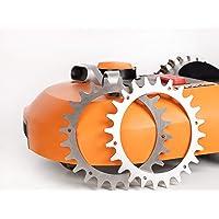 Tacos para robot cortacésped, mejora de la tracción, para Worx Landroid S/M, 205 mm, aluminio