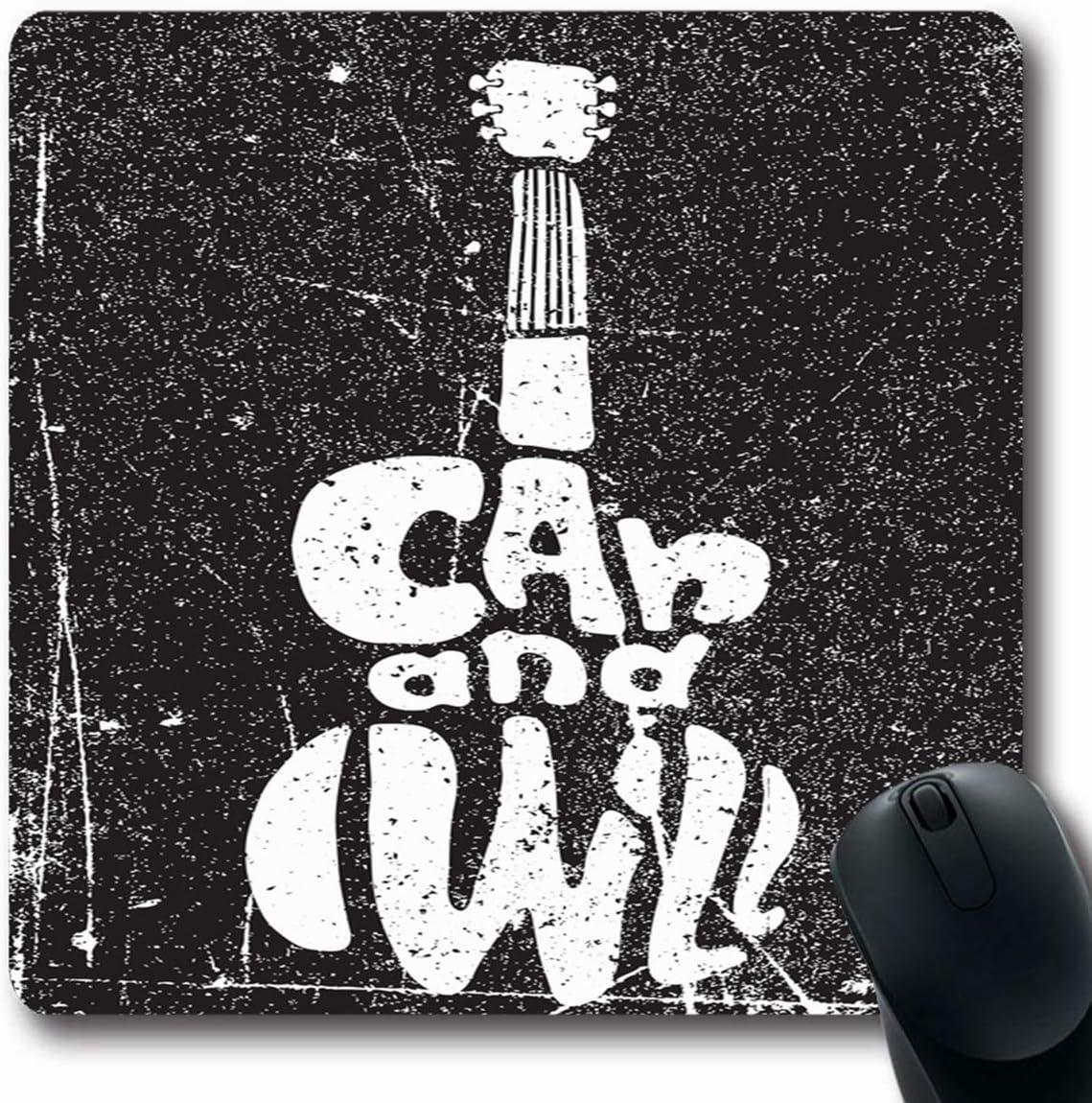 Luancrop Alfombrillas de Rock Guitarra Cita Inspirada de ...