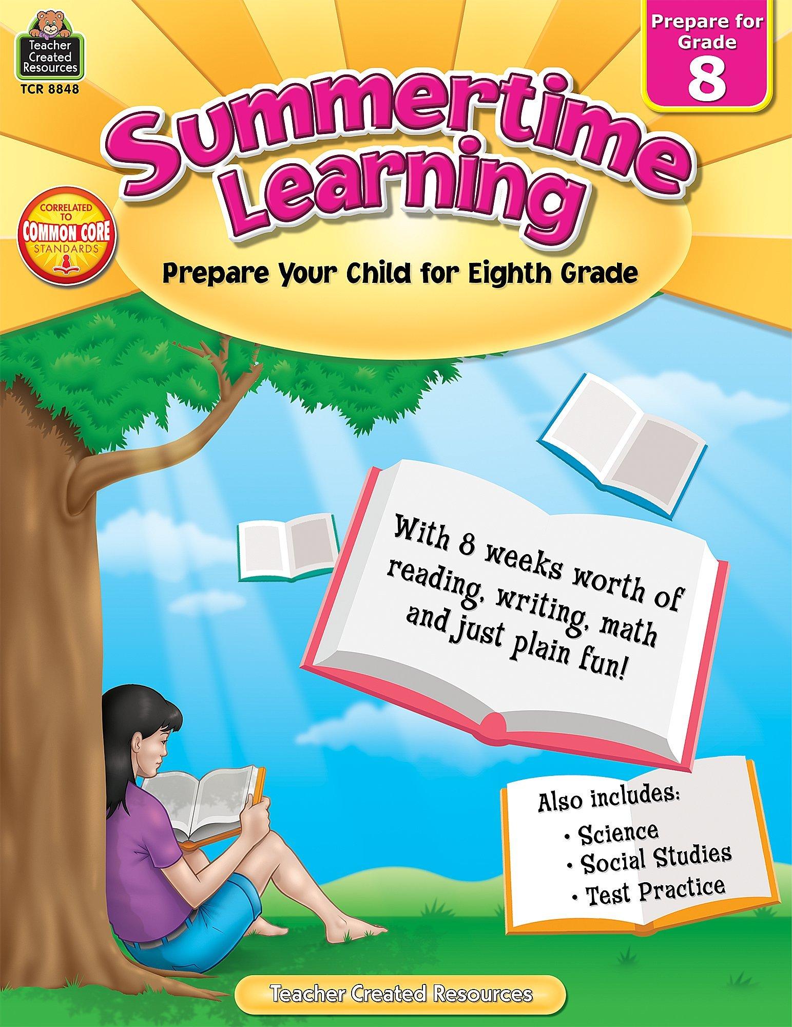 Summertime Learning Grd 8 ebook