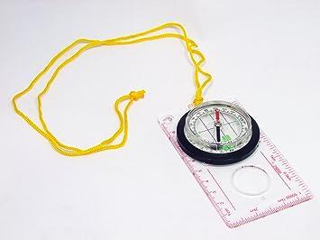 Kompass globeman transparent kartenkompass für orientierungslauf
