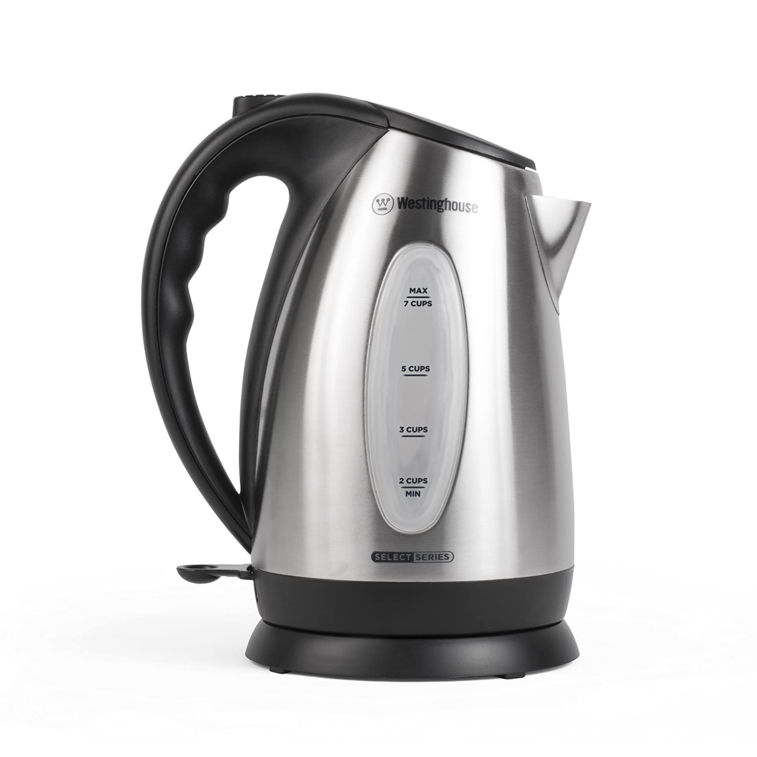 Westinghouse WKE10SSA Select Series 7 Cup Stainless Steel Electric Kettle, 1.7 Liter