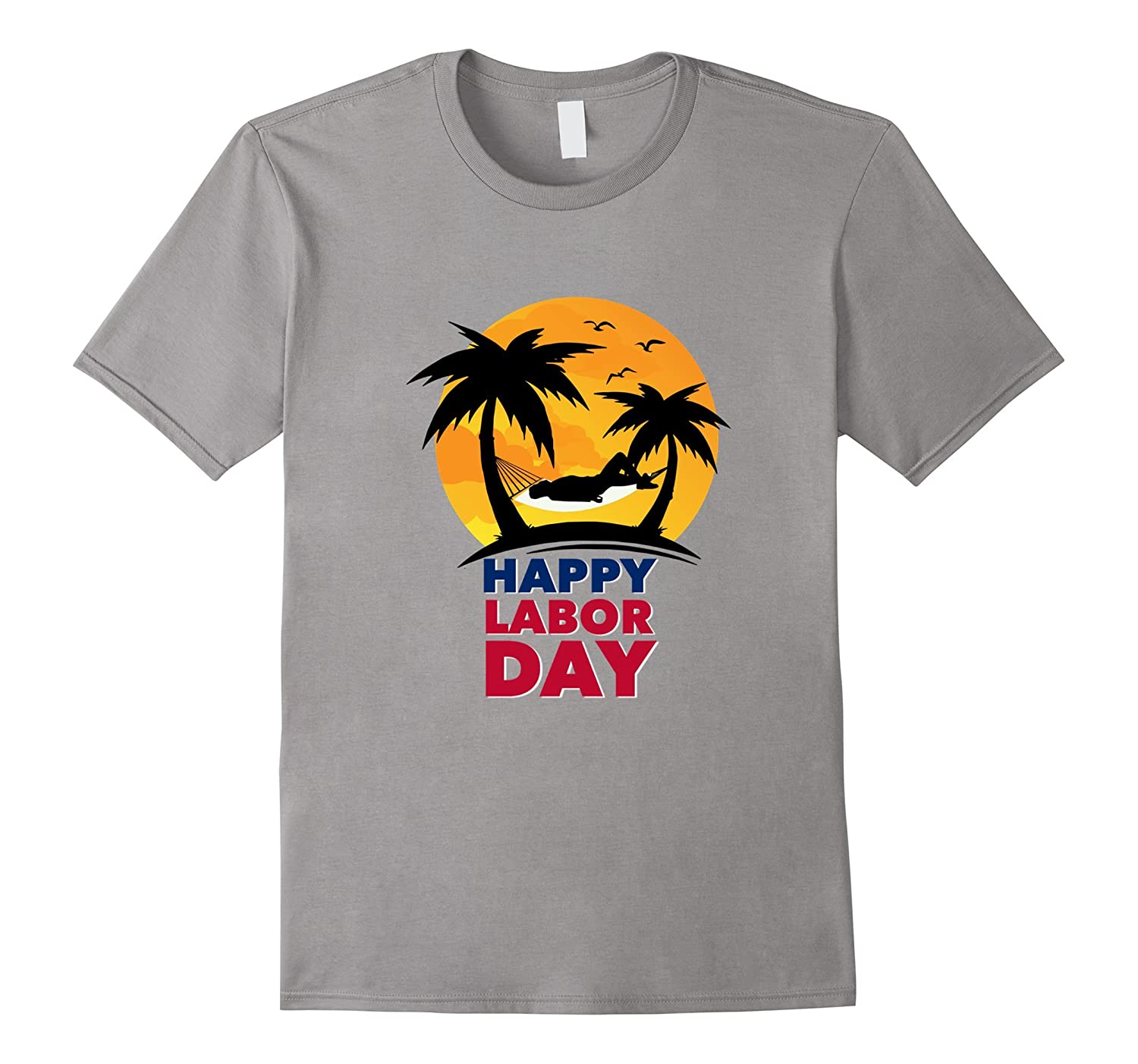 Happy Labor Day Relax On A Hammock T Shirt-BN