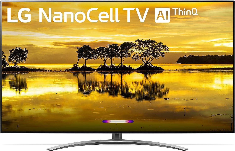 "LG 65SM9000PUA Nano 9 Series 65"" 4K Ultra HD Smart LED NanoCell TV (2019), Black"