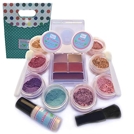 Eye Shadow Original Eyeshadow Diy Makeup Tools Children Lovely Beauty Plastic Makeup Comestics Kit Eye Shadow