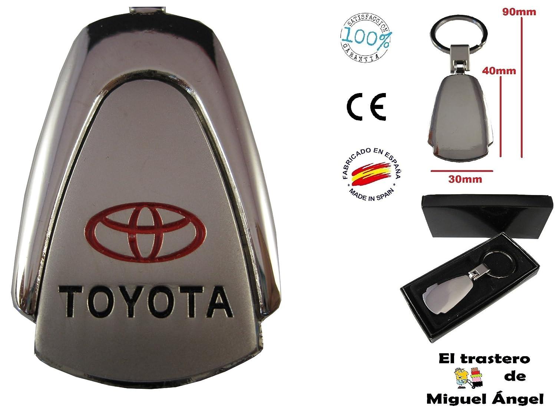 Porte-cl/és en m/étal pour voiture Toyota