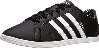 inoxidable Tacto Quemar  Amazon.com: adidas Coneo QT, Mujer, color negro/blanco/plata, negro, 5.5  B(M) US: Shoes