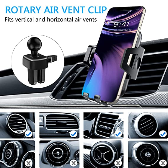 Jomaster Car Phone Mount S10 9//8//7 Note and Android Phones Dashboard Windshield and Air Vent Car Cradle Cell Phone Car Holder Compatible with iPhone XR Xs Max Xs X 8 7 6 Plus Samsung Galaxy S10