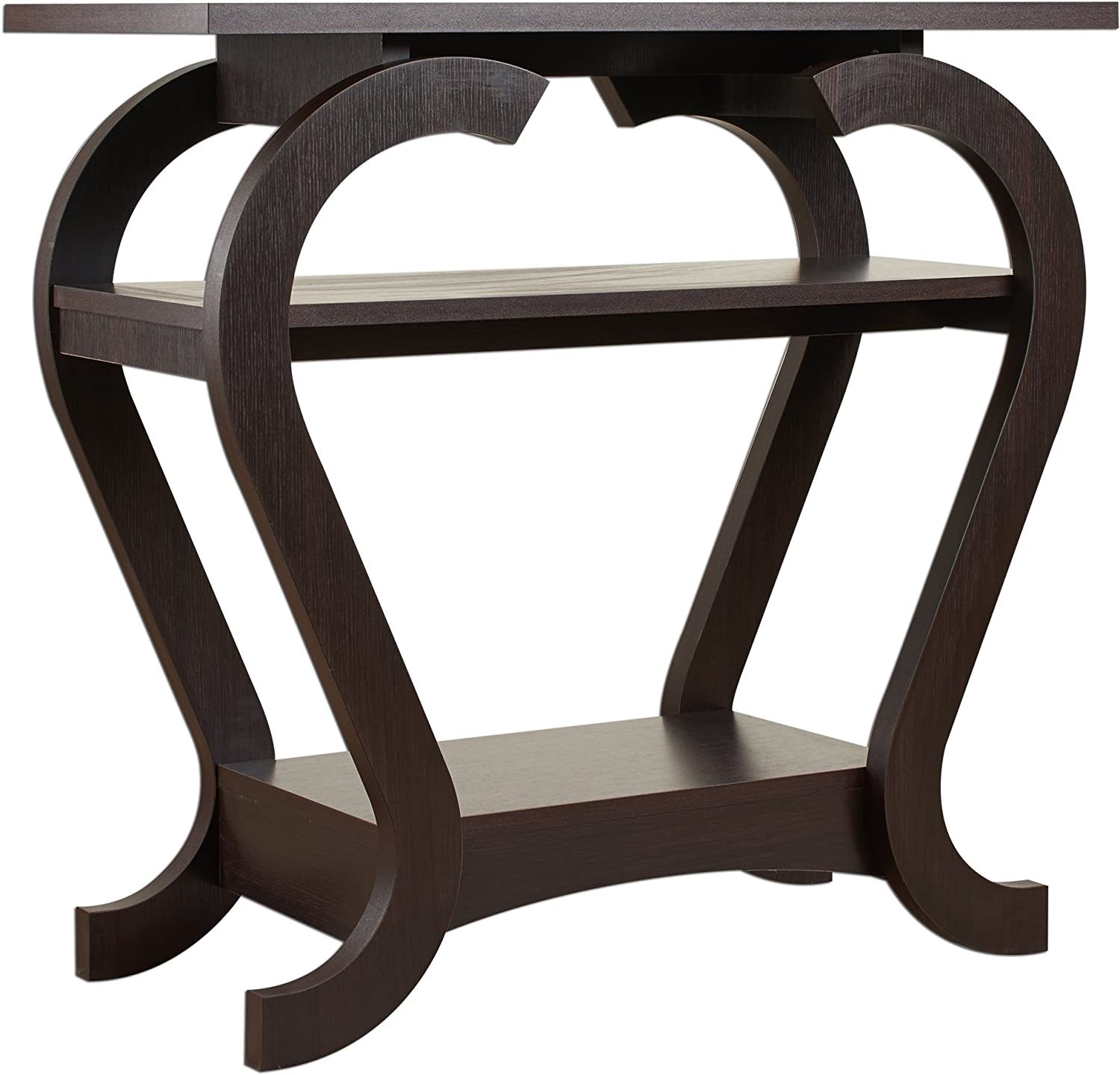 ioHOMES Anya Modern Console Table, Espresso