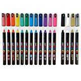"POSCA MARKER PEN PC-1MR ""FULL RANGE 16 Pen Set - All Colours"""