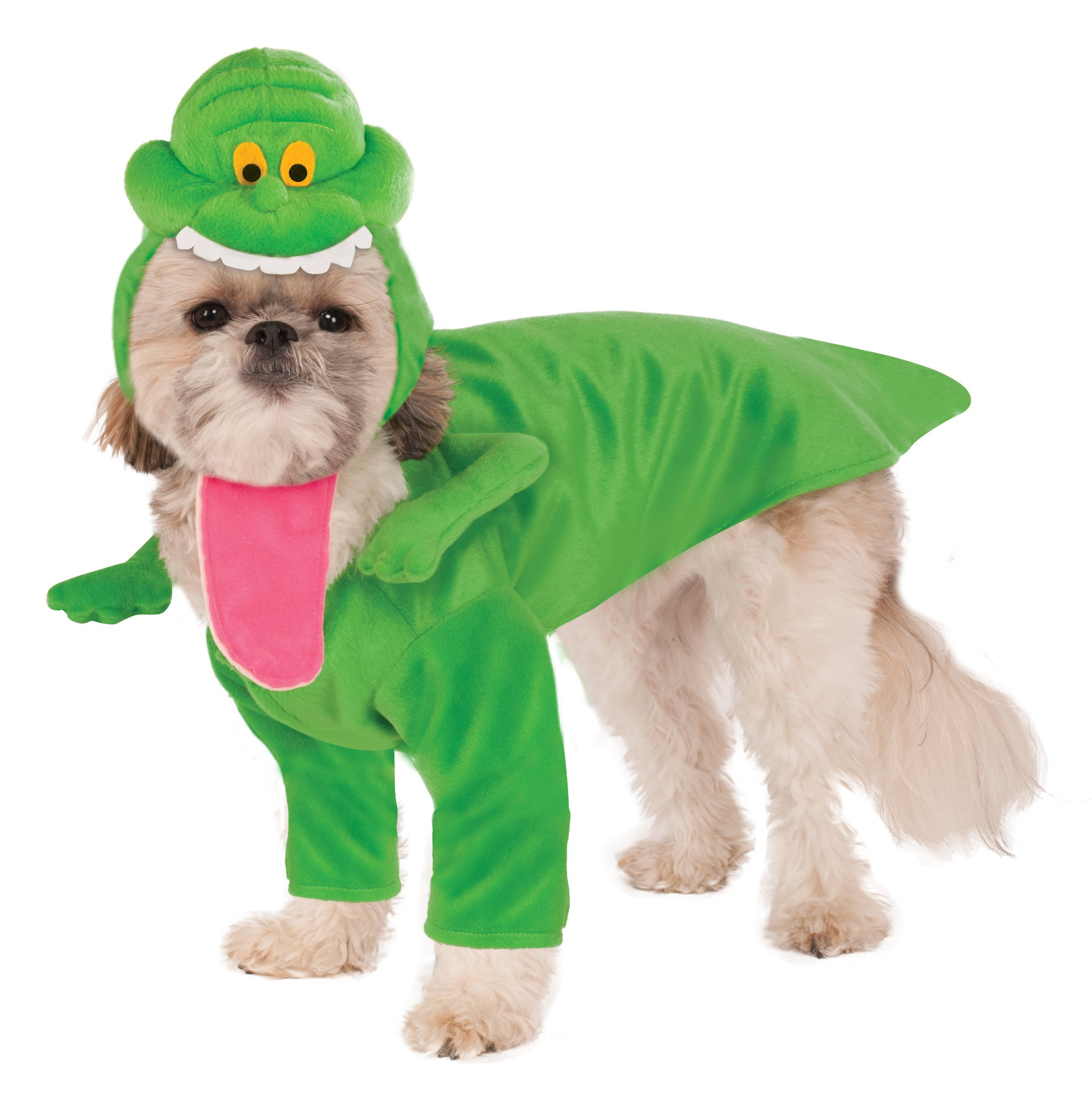 Ghostbusters Slimer Dog Costume, X-Large