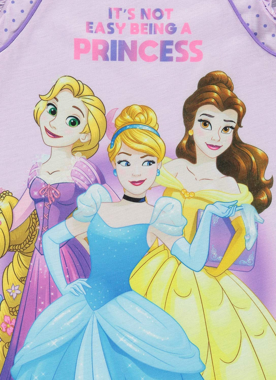 Disney Princess Soft /& Comfortable Nightgown Cute PJ for Girls