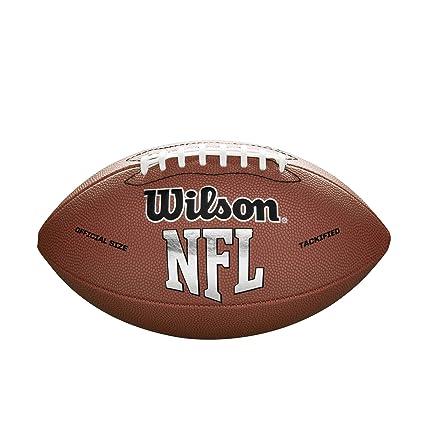 Wilson NFL MVP fútbol, Color marrón, tamaño Official: Amazon.es ...