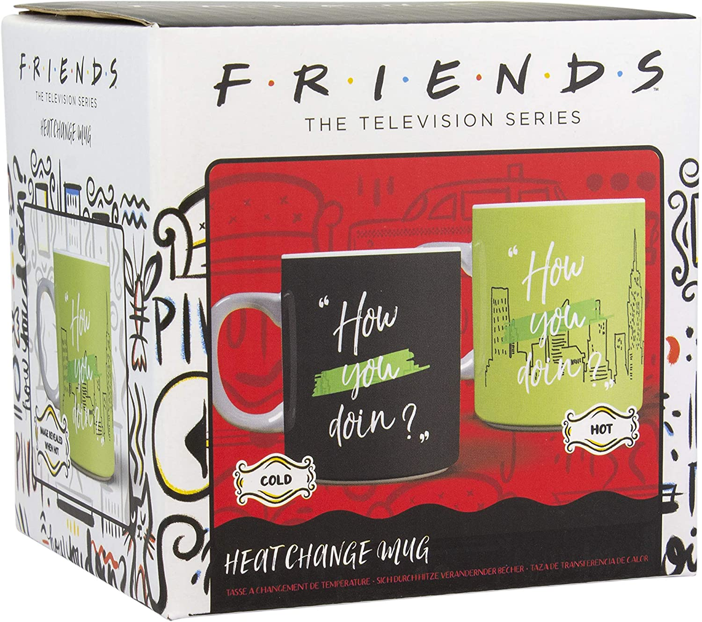 c/éramique Paladone Products 97C8AFFF34 Tasse thermosensible Friends-How You Doin