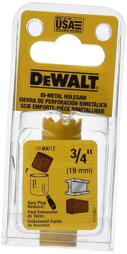 Amazon Com Dewalt D Inch Standard Bi Metal Hole Saw Home Improvement