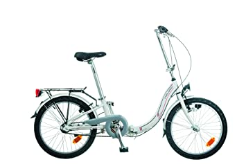 """NEUZER Plegable 20"""" Nexus 3S Bicicleta plegable de aluminio, rueda 20"""