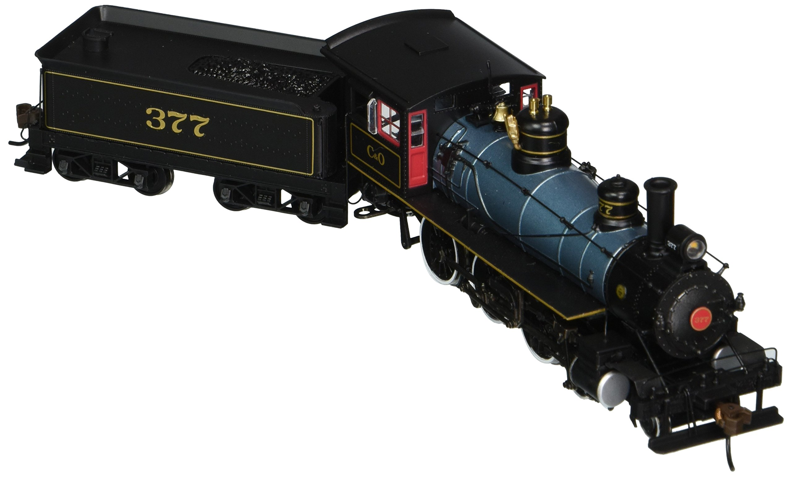 Bachmann Industries Baldwin 52'' Driver 4-6-0 DCC Sound Value Equipped Locomotive - C&O #377 - (1:87 HO Scale)