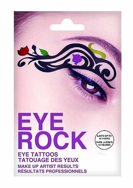 Eye ojo de ROCK, diseño de tulipanes de colores: Amazon.es: Belleza