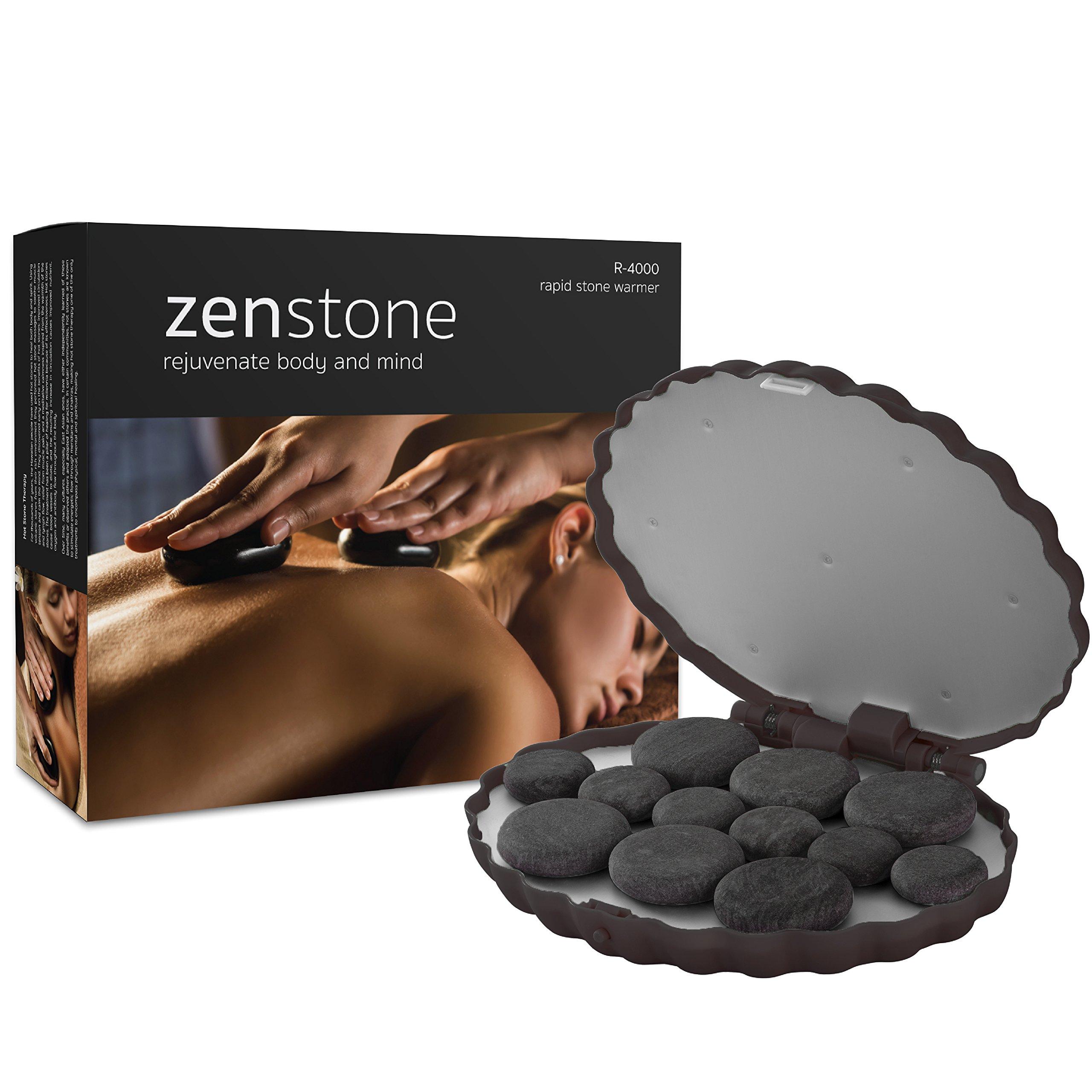 ZENSTONE Pro Waterless System + 12 Pro-Grade Hot Stones