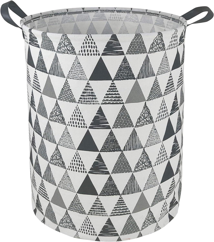 DUYIY Rectangular Storage Basket with Handle Organizer Bins for Baby Toys//Nursery Hamper//Kids Clothes////Dorm//Kitchen//Pet//Office//Closet//Shelf//Gift Basket Gray Lion