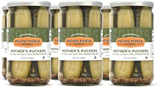 product image for Mother's Puckers (6-pack) - Deli-style garlic dill pickles 24oz