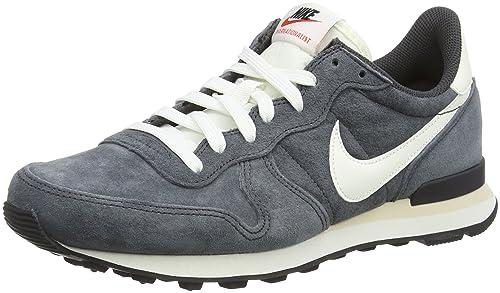 Nike Internationalist Pgs Leather, Zapatillas de Deporte Exterior para Hombre, Grigio (Anthracite/Sail/Black/Beach), 41 EU: Amazon.es: Zapatos y ...