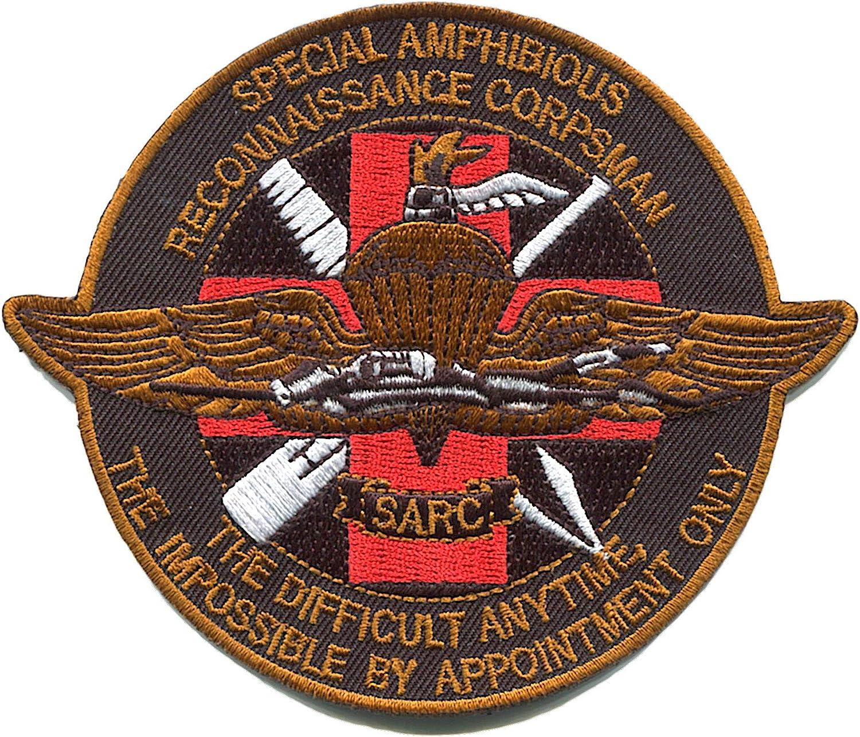 Amazon.com: Special Amphibious Reconniaissance Corpsman Patch SARC: Clothing