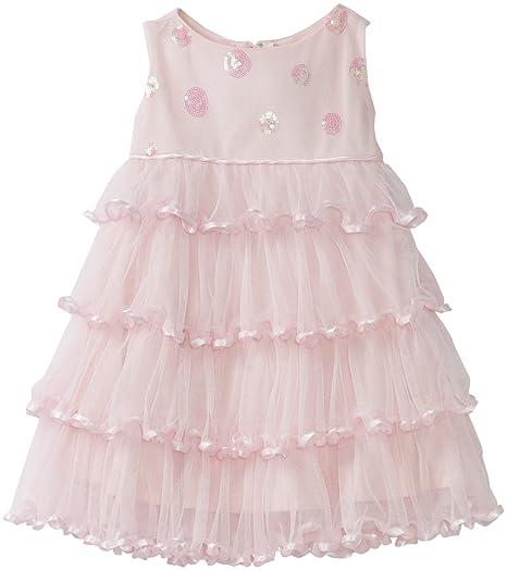 d3ba1d658 Amazon.com  Biscotti Baby-Girls Infant Soiree Sparkle Dress  Infant ...